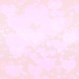 Предпосылка сердца светлого тонового изображения розовая бесплатная иллюстрация
