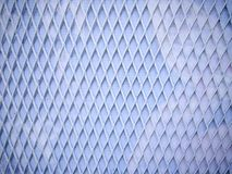 Предпосылка сетки алмазной стали полной рамки белая Стоковые Фотографии RF