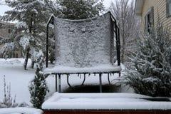 Предпосылка сильного снегопада Стоковые Фото