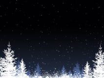Предпосылка сини зимы бесплатная иллюстрация