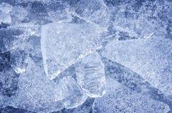 Предпосылка сини льда стоковое изображение rf