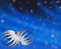 Предпосылка сини рождества Стоковые Фото