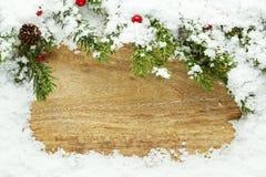 Предпосылка снежка рождества Стоковые Изображения