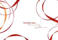 предпосылка соединяет коричневую белизну картины Стоковые Изображения RF
