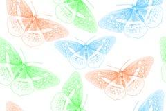 Предпосылка созданная от бабочки стоковые фото