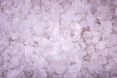 Предпосылка соли моря Стоковые Фотографии RF