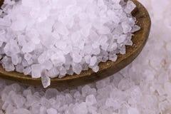Предпосылка соли моря Стоковое Изображение