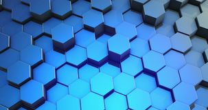 Предпосылка сота шестиугольника конспекта петли красочная иллюстрация вектора