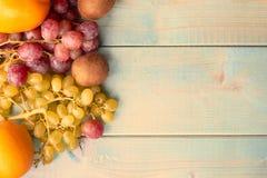 Предпосылка сочных плодоовощей стоковое фото rf
