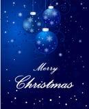 Предпосылка со снежинками - красота рождества украшения запаса искусства бесплатная иллюстрация