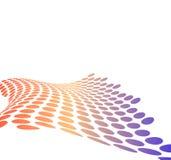 предпосылка ставит точки польза halftone металлическая Стоковые Изображения RF