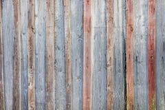 Предпосылка старых деревянных доск Стоковое Изображение