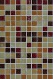 Предпосылка старых покрашенных плиток на улице Стоковое фото RF