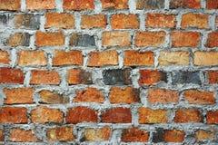 Предпосылка строительной конструкции стены дома текстуры кирпича каменная Стоковые Изображения
