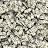 Предпосылка счетов денег Стоковые Фотографии RF
