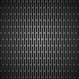 Предпосылка с безшовной черной текстурой углерода Стоковое Изображение