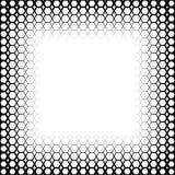 Предпосылка с градиентом черно-белых наговоров Стоковая Фотография RF