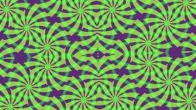 Предпосылка с зелеными фиолетовыми элементами иллюстрация штока