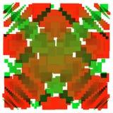 предпосылка с квадратами в других цветах вектор Стоковая Фотография RF