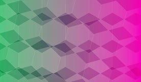 Предпосылка с различными прямоугольниками Стоковые Изображения RF
