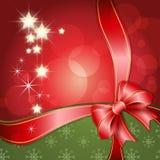 Предпосылка с Рождеством Христовым Стоковая Фотография