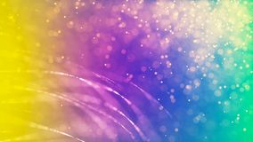 Предпосылка с славными красочными частицами бесплатная иллюстрация