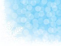 Предпосылка с снежинками иллюстрация штока