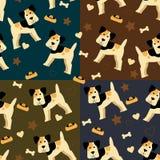 Предпосылка с собаками бесплатная иллюстрация