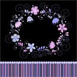 Предпосылка с цветками бесплатная иллюстрация