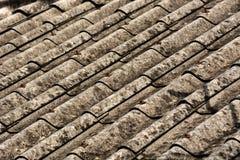 Предпосылка, текстура, закрывает вверх по текстуре крыши для предпосылки стоковая фотография rf