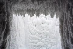 Предпосылка текстурированная зимой Стоковая Фотография RF