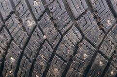 Предпосылка текстуры автошины автомобиля решетки Стоковые Фото