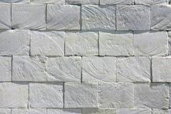 Предпосылка текстуры белой стены grunge плитки камня кирпича шифера деревенская стоковые изображения rf