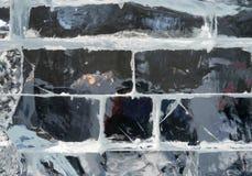 Предпосылка текстуры блока льда. Стоковые Фото