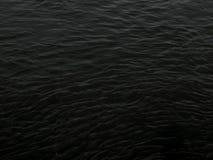 предпосылка текстуры воды темной черноты grunge Стоковые Фото