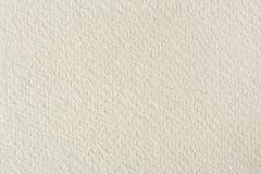 предпосылка текстуры Вод-цвета бумажная в светлом бежевом тоне Стоковое Изображение