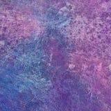 Предпосылка текстуры голубой и фиолетовой стены детальная Стоковые Изображения