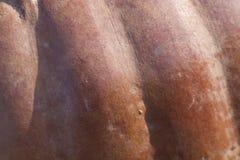 Предпосылка текстуры гончарни терракоты Стоковые Изображения RF