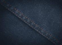 Предпосылка текстуры джинсов джинсовой ткани стоковые фотографии rf
