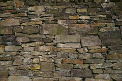 Предпосылка текстуры каменной стены Стоковая Фотография