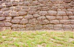 Предпосылка текстуры каменной стены, grunge Стоковые Фотографии RF