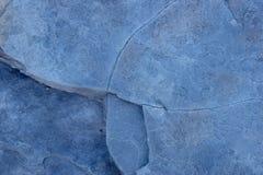 Предпосылка текстуры конспекта сланца голубого камня Стоковое Изображение