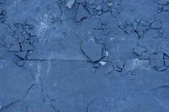 Предпосылка текстуры конспекта сланца голубого камня Стоковая Фотография