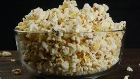 Предпосылка текстуры попкорна видеоматериал
