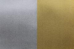Предпосылка текстуры серебряной бумаги золота Стоковая Фотография