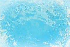 Предпосылка текстуры сини льда Стоковая Фотография RF