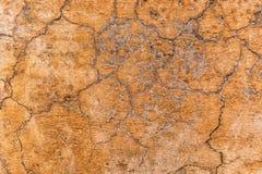 Предпосылка текстуры стены глины самана Брайна Материальная конструкция Стоковое фото RF