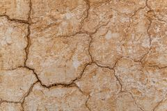 Предпосылка текстуры стены глины самана Брайна Материальная конструкция Стоковое Фото