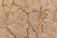 Предпосылка текстуры стены глины самана Брайна Стоковое фото RF