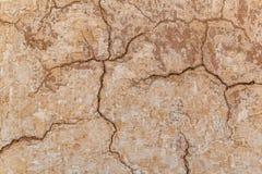 Предпосылка текстуры стены глины самана Брайна Стоковые Фото